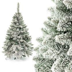 Choinka sosna ze śniegiem 160 cm Dom i Ogród