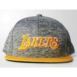ADIDAS OFICJALNA czapka z daszkiem LA LAKERS NBA Bejsbolówki
