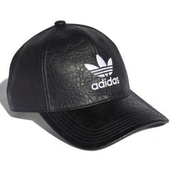 ADIDAS WYJĄTKOWA czapka z daszkiem eko skóra