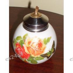 Lampka olejowa z motywem różanym