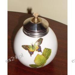 Lampka olejowa z motylem