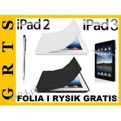 Zestaw iPad 2/3 Etui Smart Cover+Back Cover+Folia Ochronna i Rysik GRATIS!