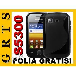 ETUI S-LINE SAMSUNG S5300 GALAXY POCKET + FOLIA