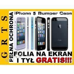 ETUI BUMPER IPHONE 5 5G + 2XFOLIA GRATIS!