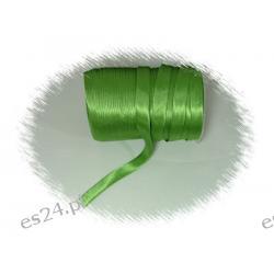 Lamówka atłasowa zielona