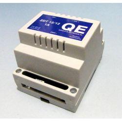 Zasilacz domofonowy, dwunapięciowy ZDT 12V/1A-DIN