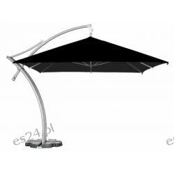 Parasol Ogrodowy Ibiza Quattro 3,5x3,5 m - Czarny Pozostałe
