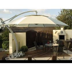 Parasol Ogrodowy Ibiza 3,5 m- Natural Parasole ogrodowe