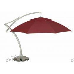 Parasol Ogrodowy Ibiza 3,5 m - Burgundy Parasole ogrodowe