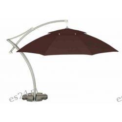 Parasol Ogrodowy Ibiza 3,5 m - Brown Meble ogrodowe