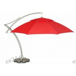 Parasol Ogrodowy Ibiza 3,5 m - Czerwony Meble ogrodowe