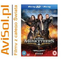 Trzej muszkieterowie 3D / Three Musketeers Blu-ray