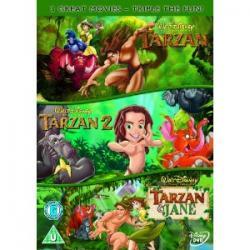 Tarzan / Tarzan 2 / Tarzan And Jane   [DVD]