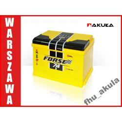 Akumulator WESTA FORSE 74AH 720A Warszawa