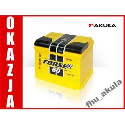 Akumulator WESTA FORSE 60AH 600A Ca/Ca - Warszawa