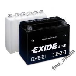 Akumulator EXIDE YTX4L-BS , CBTX4L-BS skuter W-wa