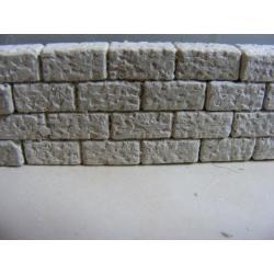 Mur,cegły -30 elementów-140 cm Masy do modelowania