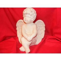 Anioł siedzący -duży Figurki