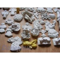 Zestaw 50 aniołków i nie tylko od 1 zł Figurki i rzeźby
