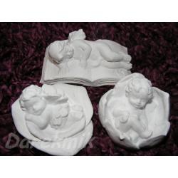 Trzy śpiące aniołki! Masy do modelowania