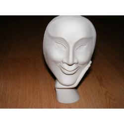 Maska 19x12 cm Figurki