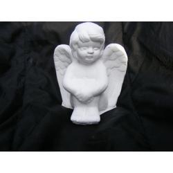 Aniołek z podkurczonymi nogami Figurki i rzeźby