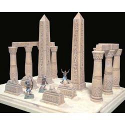 Wejście do egipskiej światynii Figurki