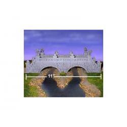 Traveler's Bridge-220 cegiełek Przedmioty do ozdabiania