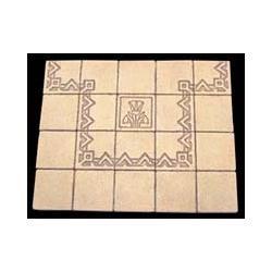 Egyptian Decorative Floor 130 cegiełek Rośliny pnące