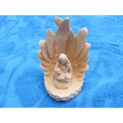 Maria z Jezusem w grocie Figurki