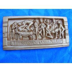 Kamasutra relief indyjski duzy 21 x10 cm-2sztuki Torebki miejskie