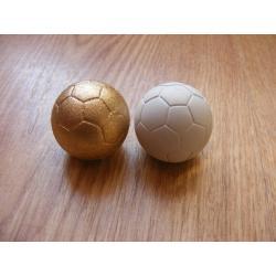 Piłka ,piłeczka -3cm-gipsowa Sporty drużynowe