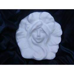 Sylfida leśna płaskorzezba ,relief Figurki