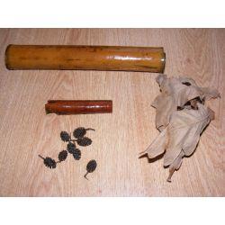 Zestaw bambus,liście,szyszki,cynamon Torby