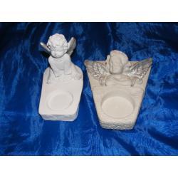 komplet aniołków świeczników Akcesoria i narzędzia