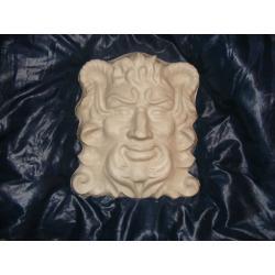 Duza maska  26cm x 21cm. Figurki