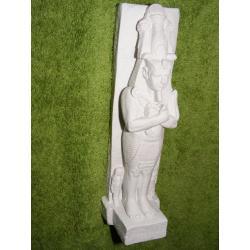 Cheops-figurka faraon +prezent skarabeusz Akcesoria i makiety