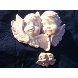 DWIE PARY ANIOŁÓW,AMORÓW,ANIOŁKÓW Figurki i rzeźby
