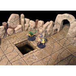 Rock Cavern Root  150 elementów Pozostałe