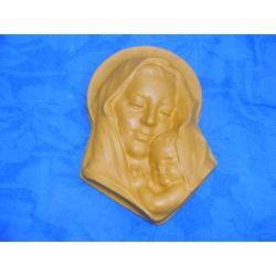 Madonna  z dzieciątkiem  30x18 cm Figurki i rzeźby