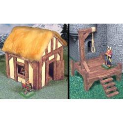 Drewniane deski 160sztuk- Masy do modelowania