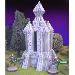 Futurystyczna piramida Star Wars Miniatures