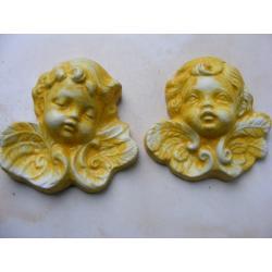Dwa aniołki Figurki