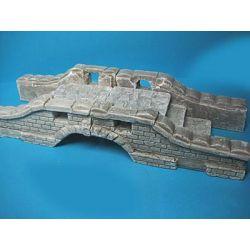 Ruiny mostu w skali 1:35, zestaw 6-ciu części Figurki