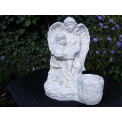Opiekuńczy,duzy anioł ,aniołek-40cm Korzenie i ozdoby