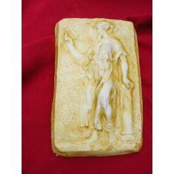Barokowa płaskorzeżba,relief Figurki