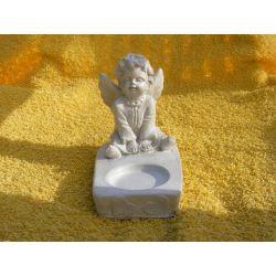 Aniołek świecznik Figurki