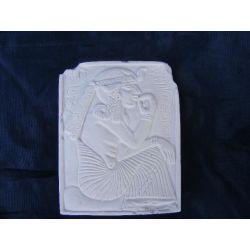 Płaskorzeżba egipska,egipski relief Figurki i rzeźby