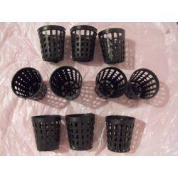 Koszyki,doniczki do sadzenia roślin-10szt.+rośliny