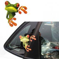 Naklejka żaba Gadżety motoryzacyjne